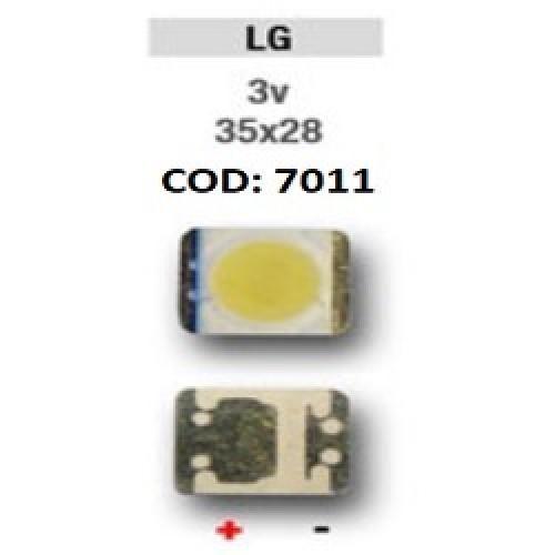LED PANTALLA 3V 35X28 BACKLIGHT LG