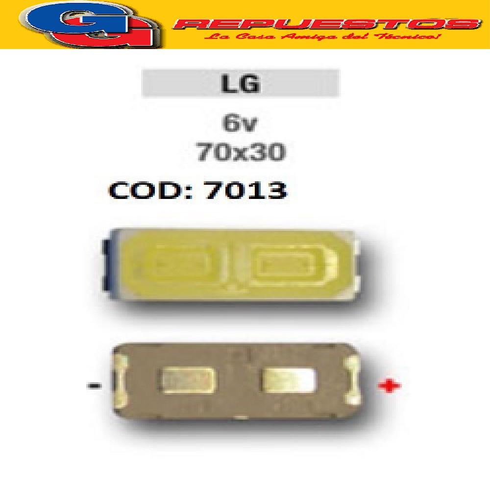 LED PANTALLA 6,5V 70X30 BACKLIGHT LG