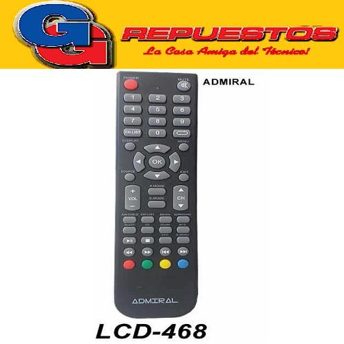 CONTROL REMOTO LED ADMIRAL 2016 3856