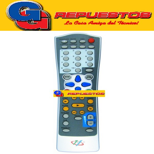 CONTROL REMOTO DVD DAEWOO 2799 AUDIOLOGIC DVD-515 2799 COBY XVIEW