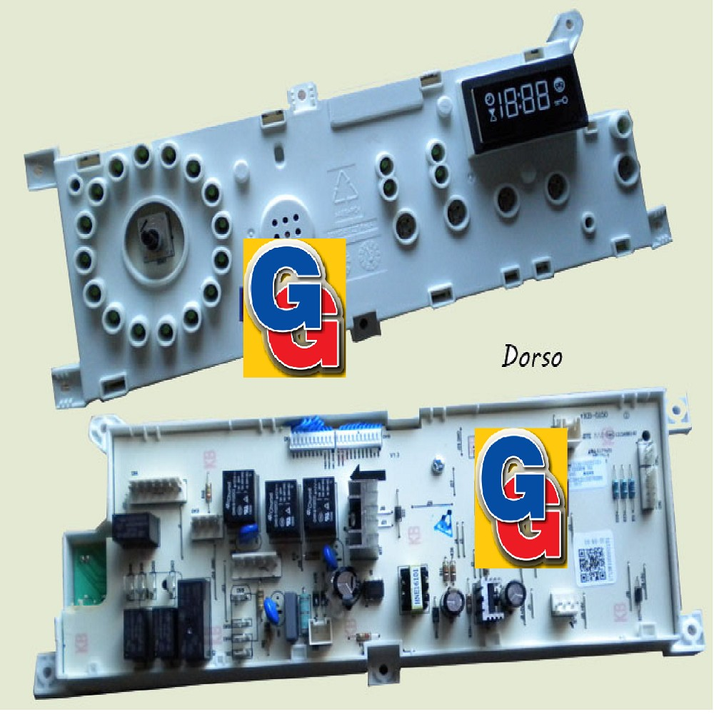 PLACA DE MANDOS ELECCTRONICA .MABE LAVASECARROPAS  LVSMB08 LSMB08E04B-LSMB08E05B-LSPK08E05 (ORIG.) Cod.Origen:WG04F08349 (MABE) PCB OF LSMB08E04B 810609 (MABE)WG04F08333 (MABE) ENSAMBLE PANEL DE CONTROL LS PLAQUETA UNIDAD DE CONTROL CON DISPLAY 8104