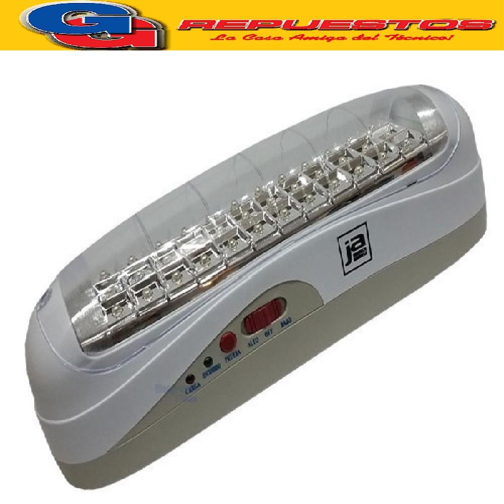 LUZ DE EMERGENCIA CON 30 LEDS SMD JA3S30 MAXIMA AUTONOMIA DE 24 HS LED DE ALTA POTENCIA