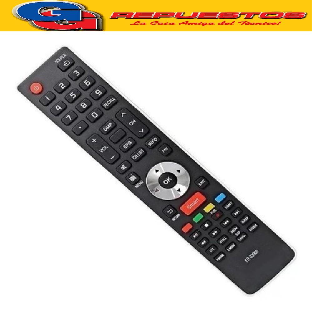 CONTROL REMOTO LED SMART BGH/SANYO/VARIOS 3834 ER33905