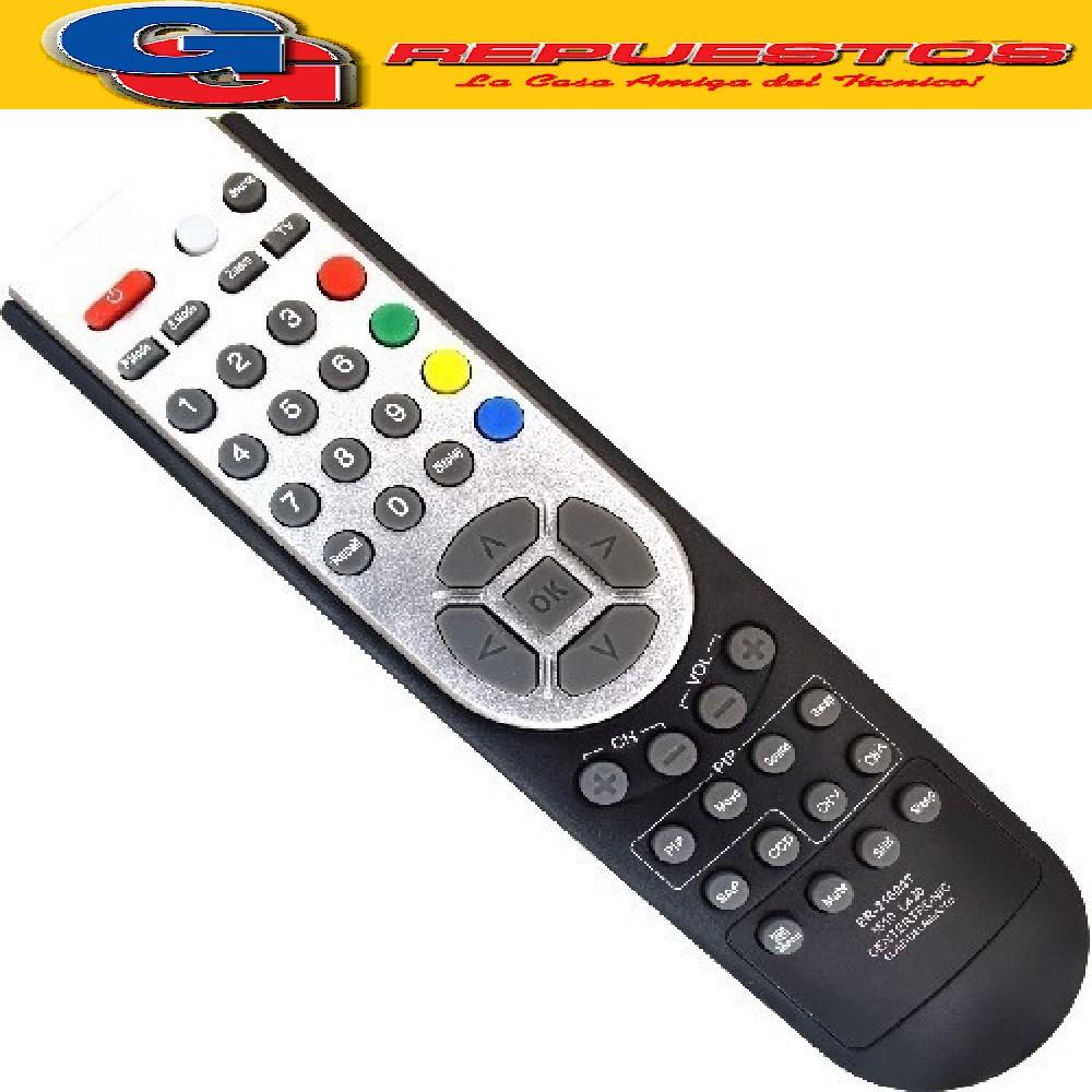 CONTROL REMOTO LCD TELEFUNKEN ADMIRAL 3510 R6510