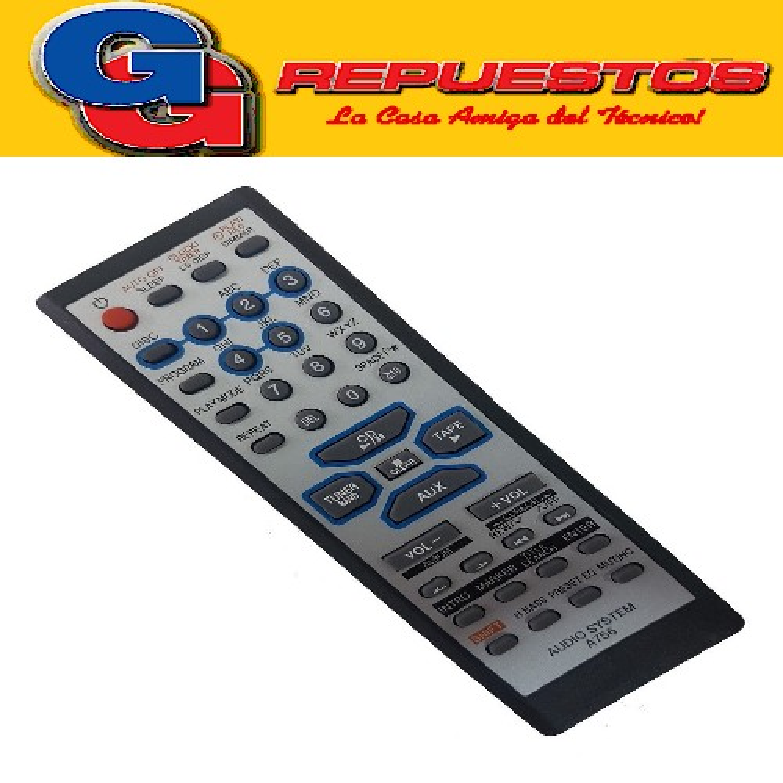 CONTROL REMOTO AUDIO PANASONIC A756