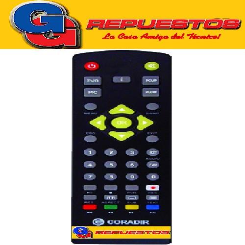 CONTROL REMOTO CONVERSOR CORADIR AZ AMEREICA SIN917 3586