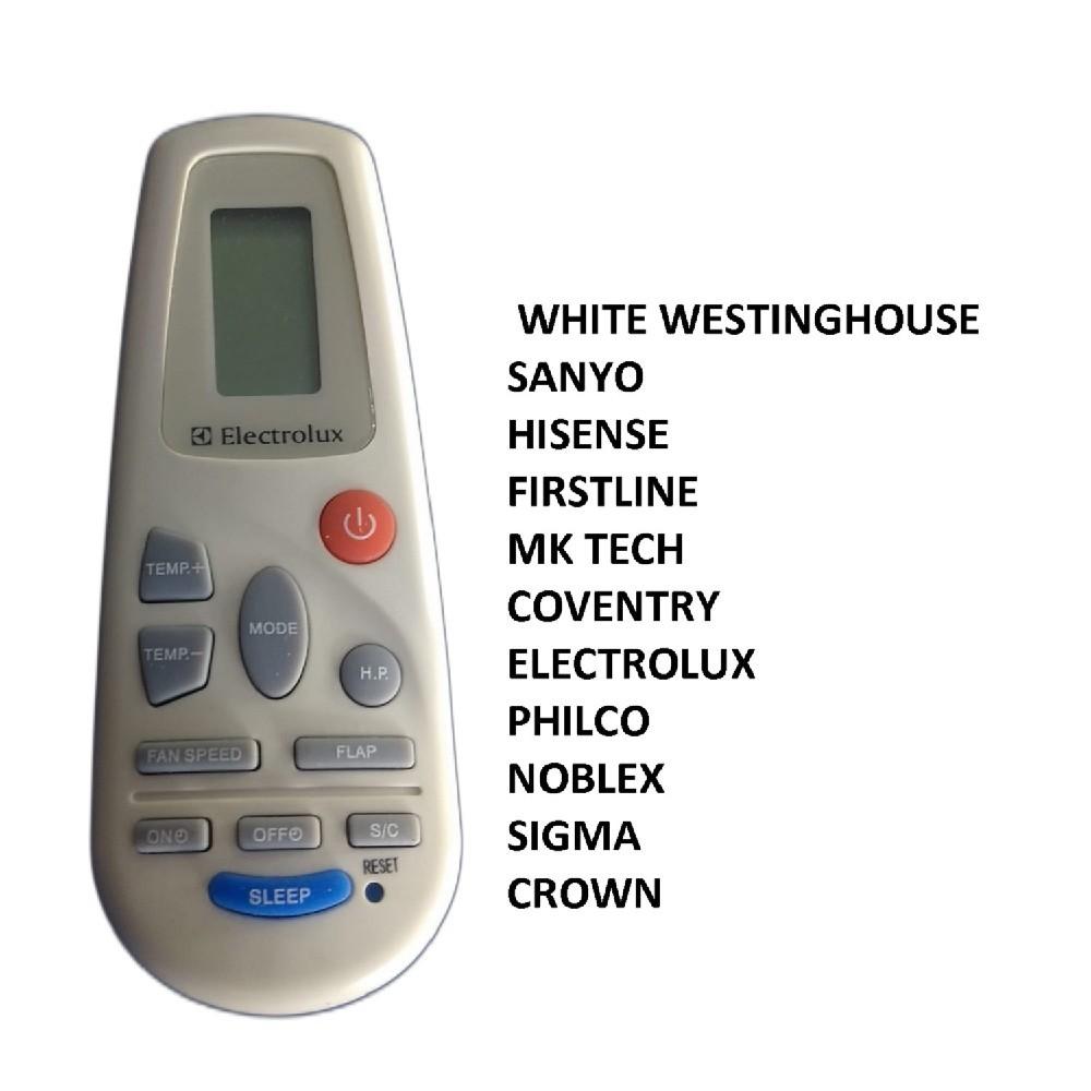 CONTROL REMOTO AIRE ACONDICIONADO SPLIT AR802 [[FRIO / CALOR]] SIGMA / WHITE WESTINGHOUSE RCH-2302NA