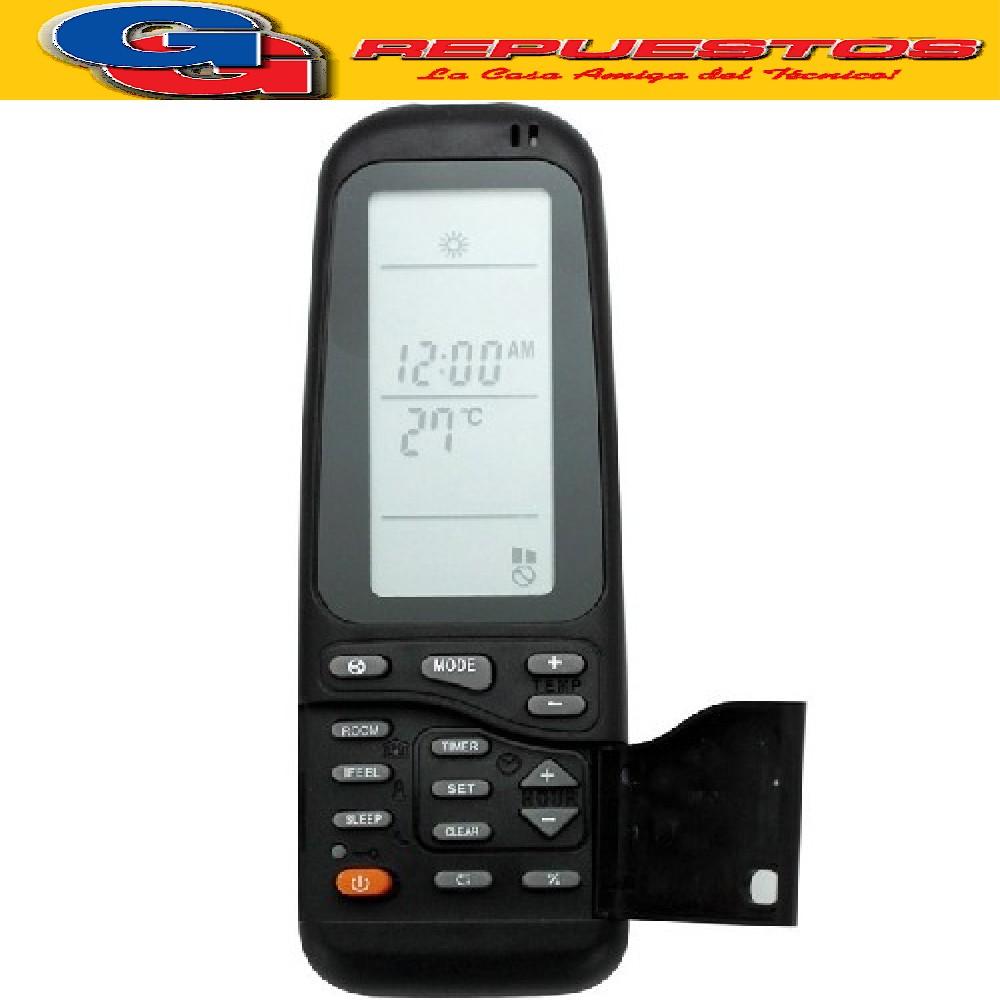CONTROL REMOTO AIRE ACONDICIONADO SPLIT AR804 CARRIER ELECTRA DAEWO YORK
