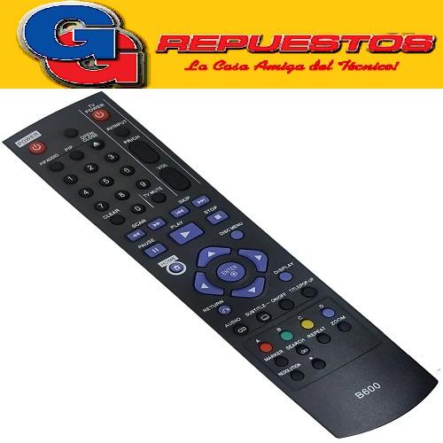 CONTROL REMOTO BLU RAY LG B600