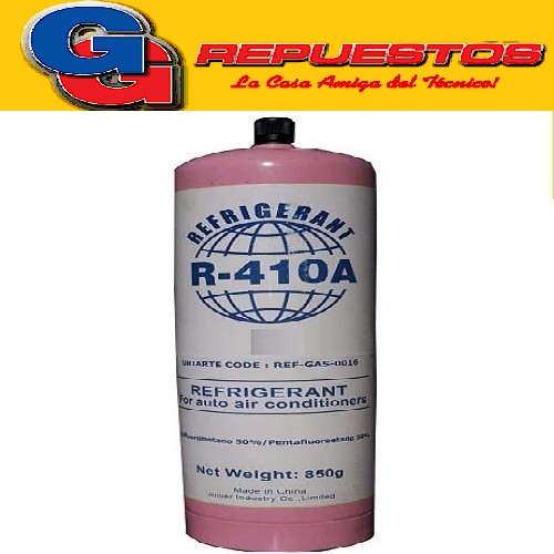 LATA DE GAS R410 850G BlueStar ENVASE DESCARTABLE