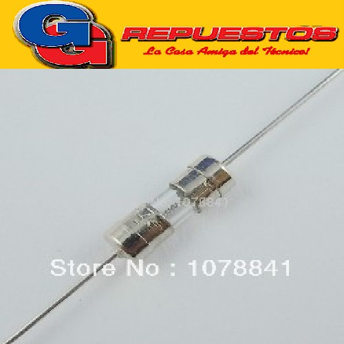 FUSIBLE 31MM 0.25 AMP. 250V CON CABLE