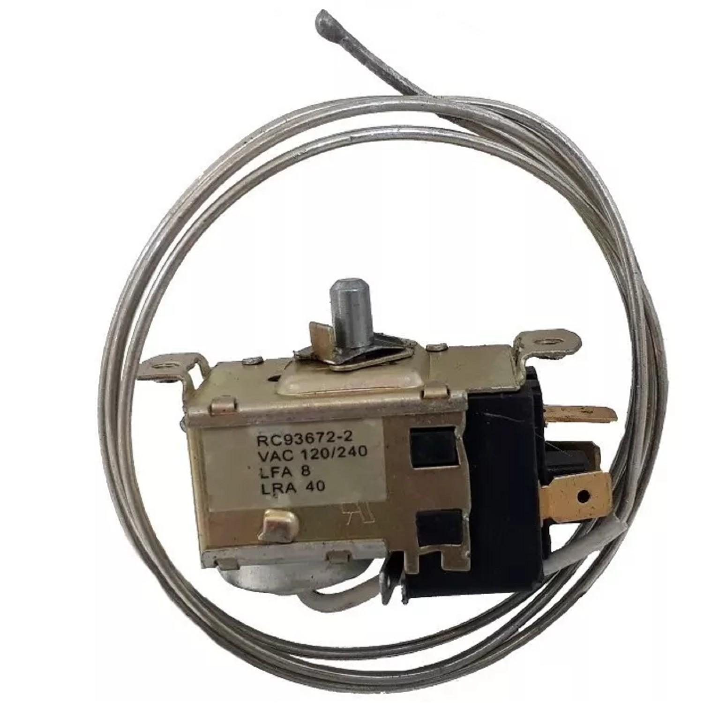 TERMOSTATO BLUESTAR  93672-2S / COLUMBIA / 2 FRIOS (+3.5-13.5_-17.6_-22) 3 CONTACTOS MEDIA CAÑA