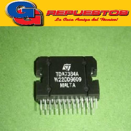 TDA7384A CIRCUITO INTEGRADO REEMPLAZO PAL005 4 x 35W QUAD BRIDGE CAR RADIO AMPLIFIER PURE 5