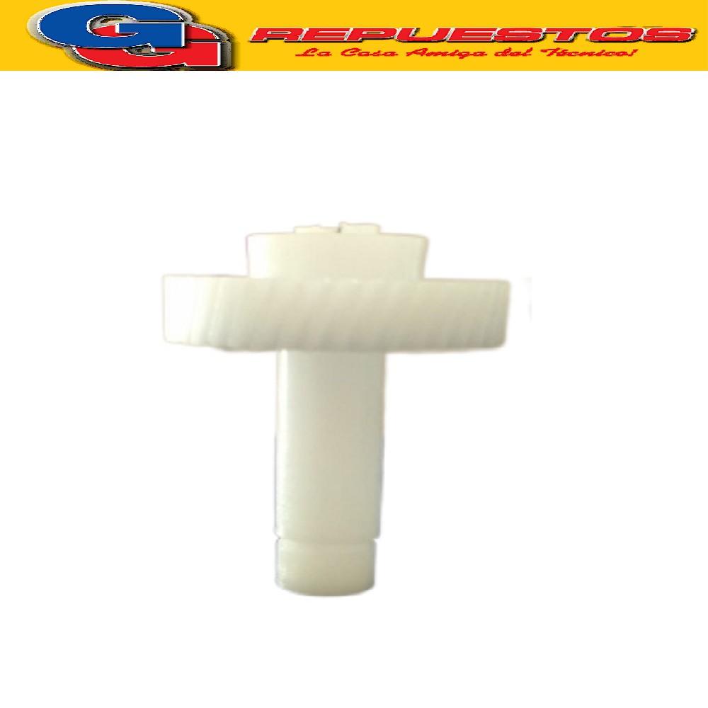 ENGRANAJE BATIDORA FERRARI PHILIPS ATMA PRECIO POR UNIDAD BM823. ALTO TOTAL 41 mm, DIAMETRO ENGRANAJE 42.6 mm, ESPESOR ENGRANAJE 7mm. DIAMETRO EXTERIOR DEL EJE 10,6 mm , DIAMETRO INTERIOR DEL EJE 5.2 mm