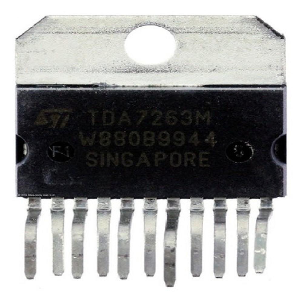 TDA7263M CIRCUITO INTEGRADO  12+12W STEREO AMPLIFIER WITH MUTING