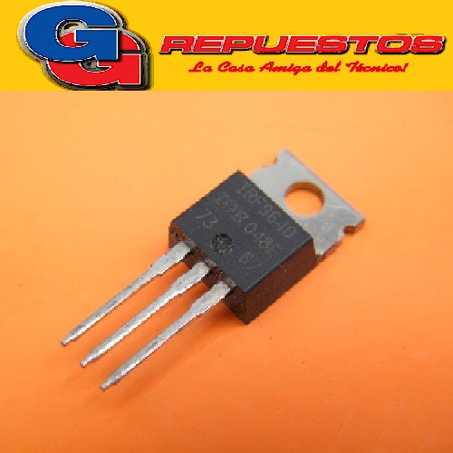 TRANSISTOR IRF9640 11A, 200V, 0.500 Ohm, P-Channel Power MOSFET