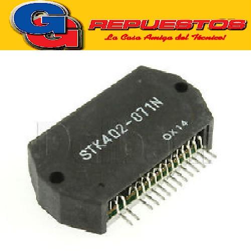 STK402-071N CIRCUITO INTEGRADO