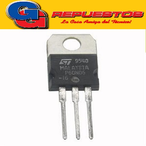 STP60N06 TRANSISTOR FET CANAL N -CAPSULADO METAL- (60V/60A/0.14 ohms) to-220