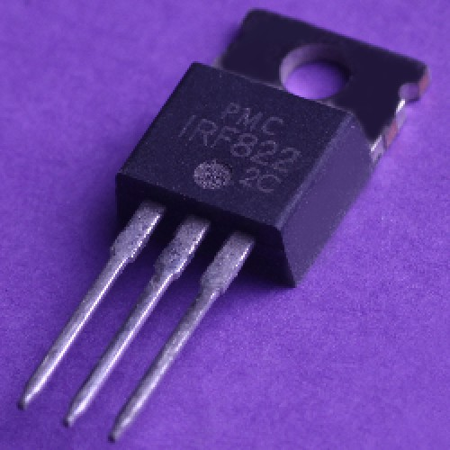 TRANSISTOR IRF822 MOFET N-Channel Power MOSFETs, 3.0 A, 450 V/500 V