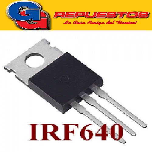 TRANSISTOR IRF640 N-Channel Power MOSFETs, 18A, 150-200V