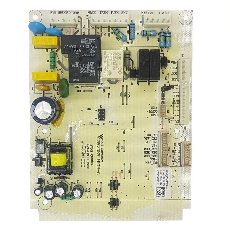 PLAQUETA HELADERA UNIDAD CONTROL ELECTROLUX DI80X MODELO ANTIGUO-DFI80-DFW64 SD (ORIGINAL)