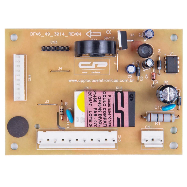 PLAQUETA HELADERA CONJ.CAJA CONTROL 220V ELECTROLUX DF43-DF48-DFW48-DW48X PLACA ELECTRONICA DE POTENCIA ORIGINAL