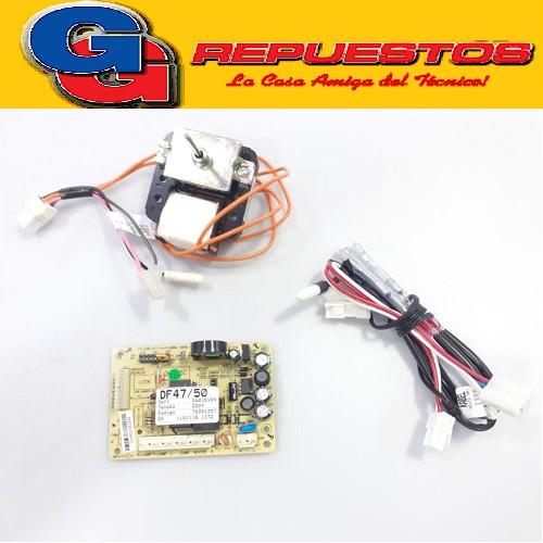 KIT PLAQUETA PLACA-SENSOR-FORZADOR HELADERA ELECTROLUX DF47-DF50-DF50X-DFW50-DW50X Tipo de Producto: DISTRIBUCION ORIGINAL