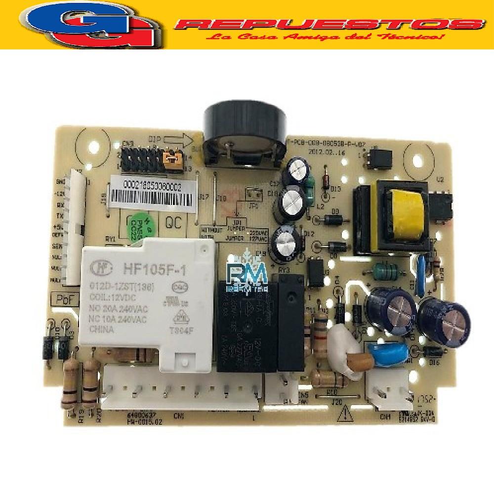 PLAQUETA HELADERA UNIDAD CONTROL ELECTROLUX DF80X- DF80 (ORIGINAL) Cod.Oriegn:5205946 (ELECTROLUX) 64800637 (ELECTROLUX) PLACA POTENCIA DF 80 / DF 80X