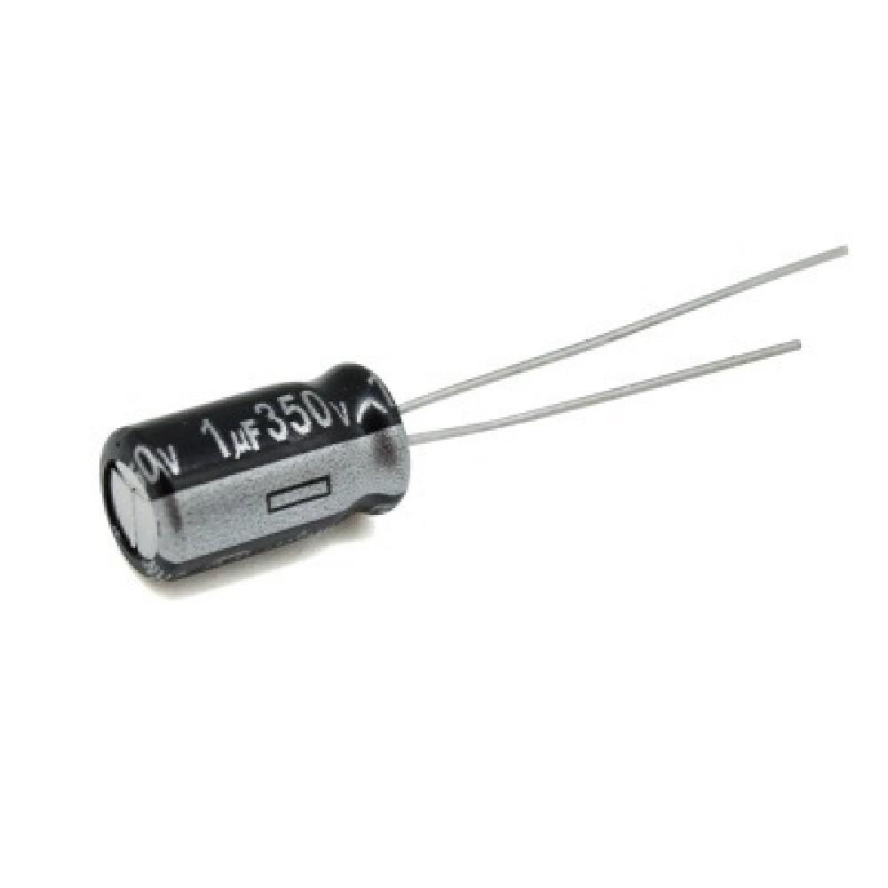 CAPACITOR ELECTROLITICO 1uFX350V RADIAL