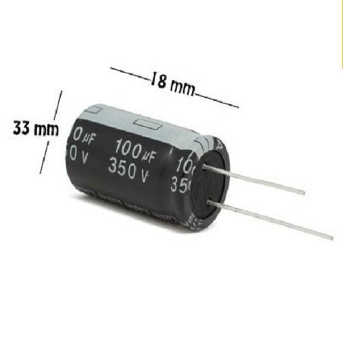CAPACITOR ELECTROLITICO 100uFX350V RADIAL