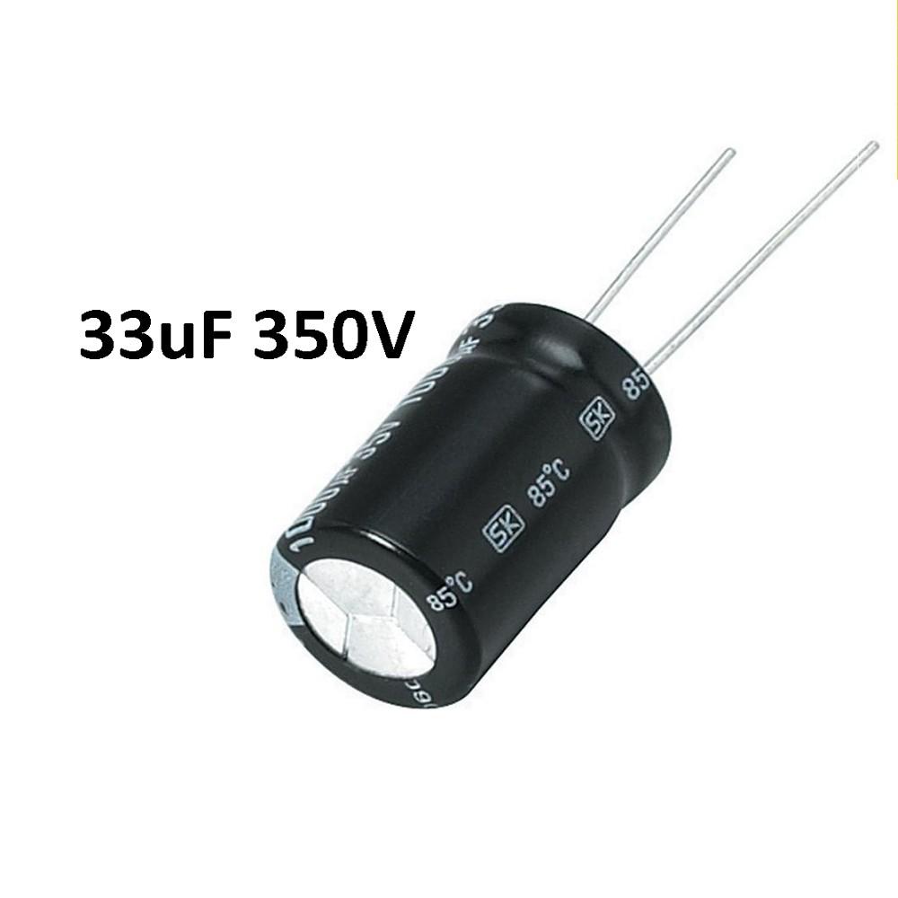 CAPACITOR ELECTROLITICO 33uFX350V RADIAL