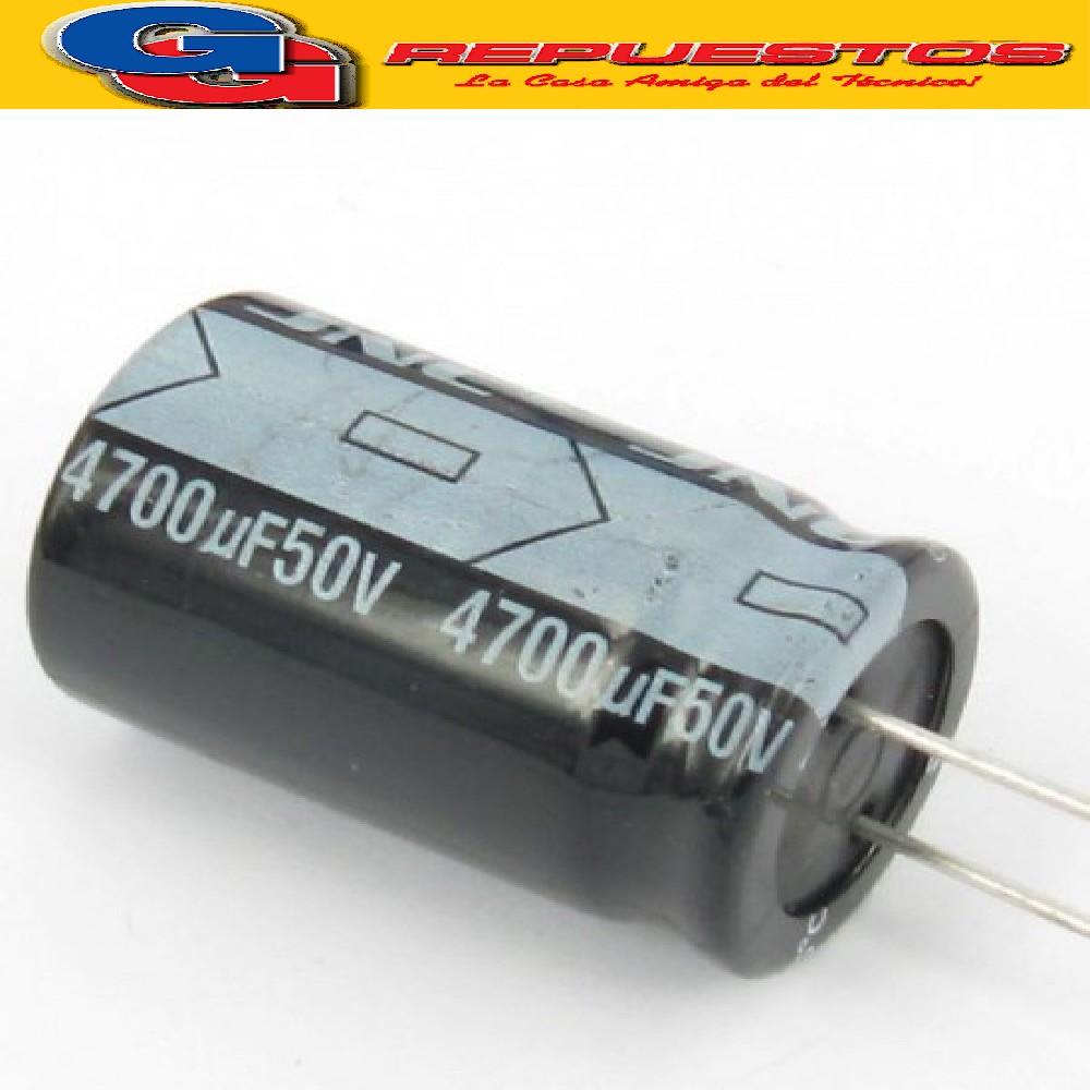 CAPACITOR ELECTROLITICO 4700uFX50V RADIAL (22 x 42mm)
