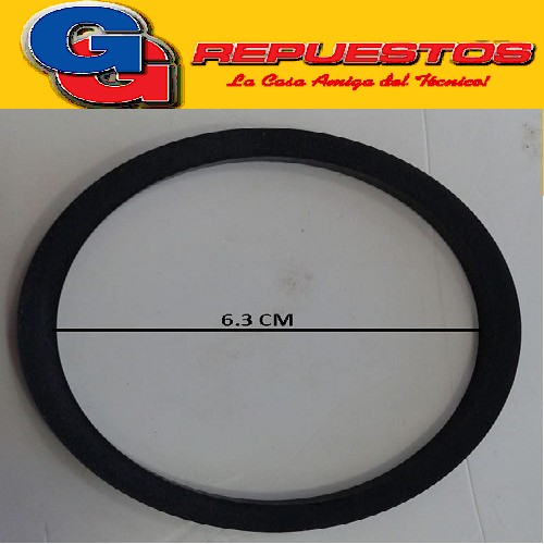 ARO LICUADORA PHILIPS HR 2855 FIRENZE M/N ARANDELA GOMA JUNTA DIAMETRO EXTERIOR 6.3 CM