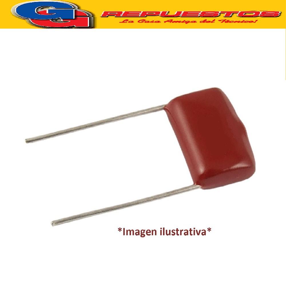 CAPACITOR POLIPROPILENO Metalizado 0.47uFX100VDC (Paso=10mm) 474