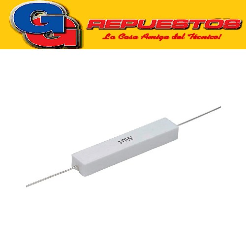 RESISTENCIA CERAMICA 10W 5%  1E5 1R5