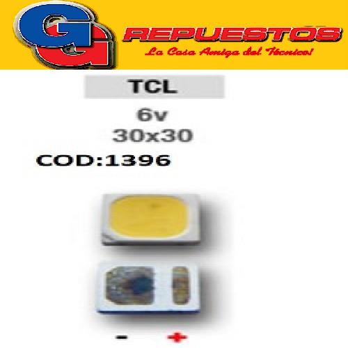 LED PANTALLA 6V 30X30 BACKLIGHT TCL NUEVO