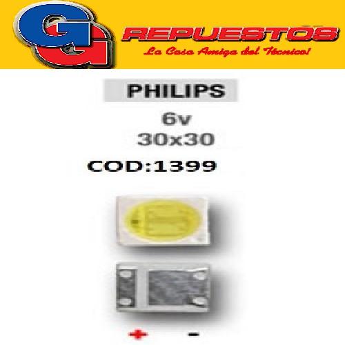 LED PANTALLA 6V 30X30 BACKLIGHT PHILIPS