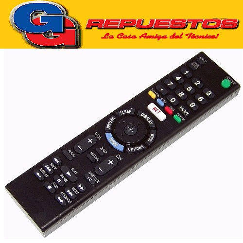CONTROL REMOTO LED SMART SIMILAR A SONY  (3858)