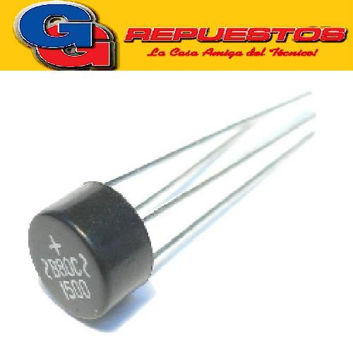 PUENTE RECTIFICADOR DIODO 1.5A 1000V T/MESA (Redondo) W10M PUENTE DIODO