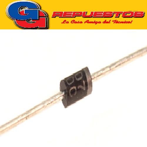 DIODO RECTIFICADOR 1A 1000V 1N4007