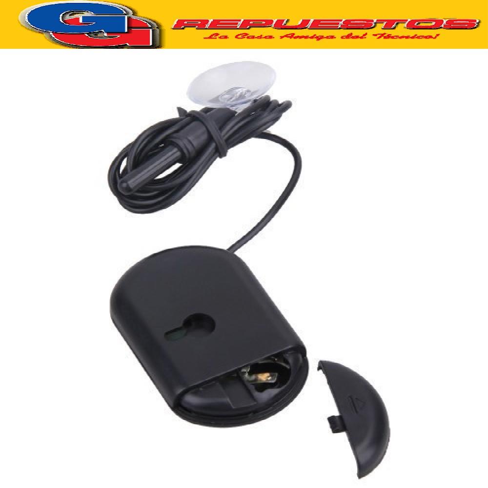 TERMOMETRO DIGITAL ST-3 A PRUEBA DE AGUA -50ºC A +70 ºC 1 metro de cable