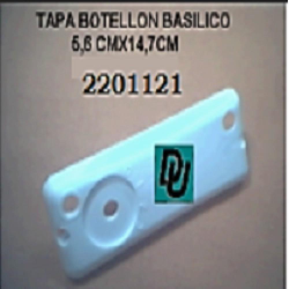 TAPA VENTILADOR BOTELLON BASILICO 2 TORNILLOS 5.6cm x 14.7cm