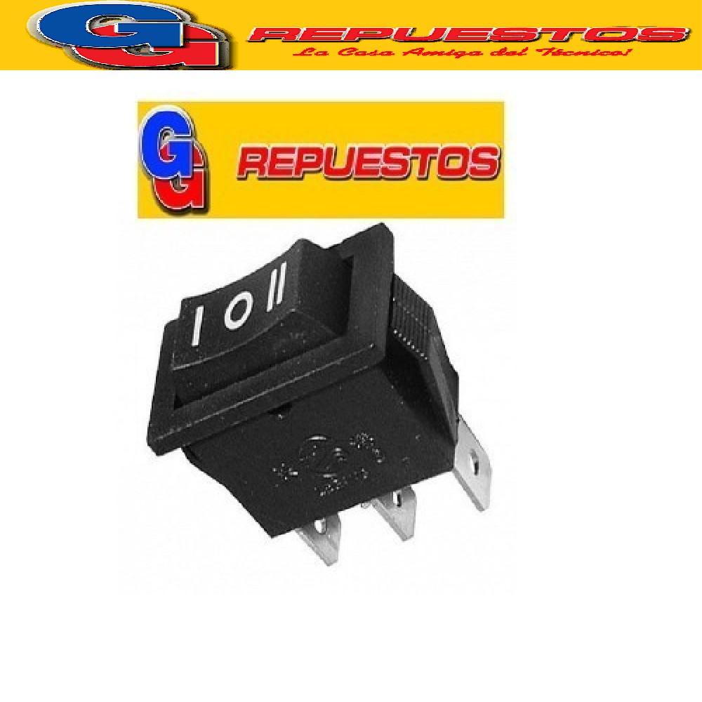 LLAVE INTERRUPTOR PUNTO MEDIO LILIANA 16X32 T/PALA 3 CONTACTOS