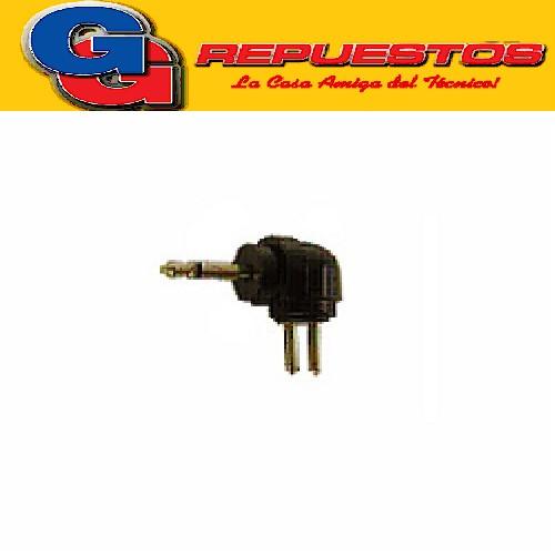 CONECTOR P/CABLE FU070A - FICHA PLUG 2.5mm