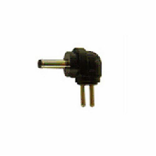 CONECTOR P/CABLE FU070C - FICHA HUECA 3.0x1.0mm NEGRO