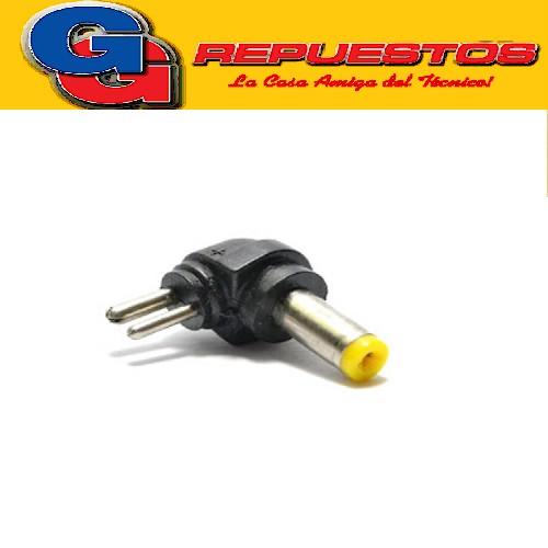 CONECTOR P/CABLE FU070F - FICHA HUECA 4.0x1.7mm AMARILLO