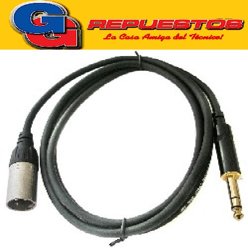 CABLE (0.12x16) 1.50Mts PLUGS INTERCAMBIABLES P/CH FUO70