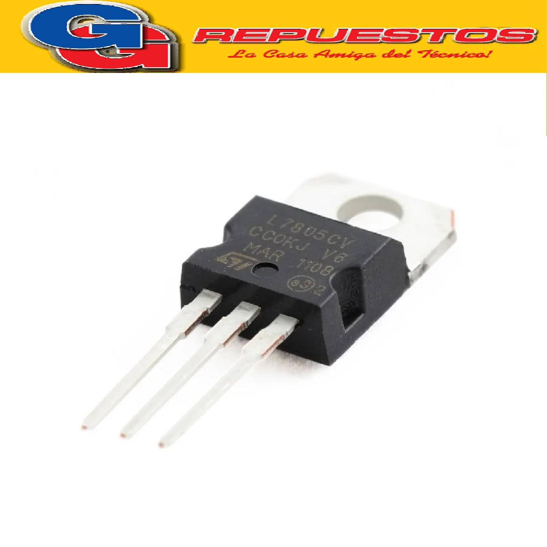 REGULADORES DE TENSION LM7805PSGS/L7805SGS (5V-1.5A)