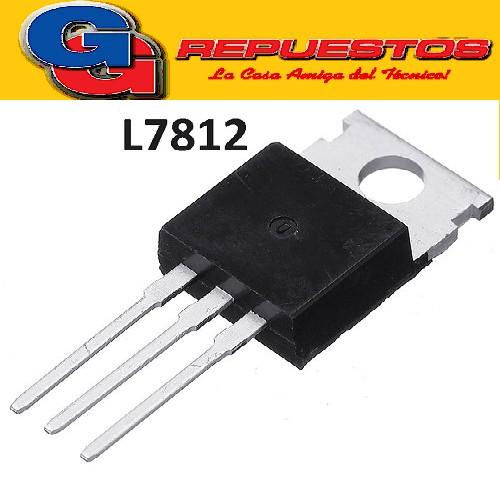 L7812 (P / ST / SGS) REGULADORES DE TENSION (12V-1.5A)