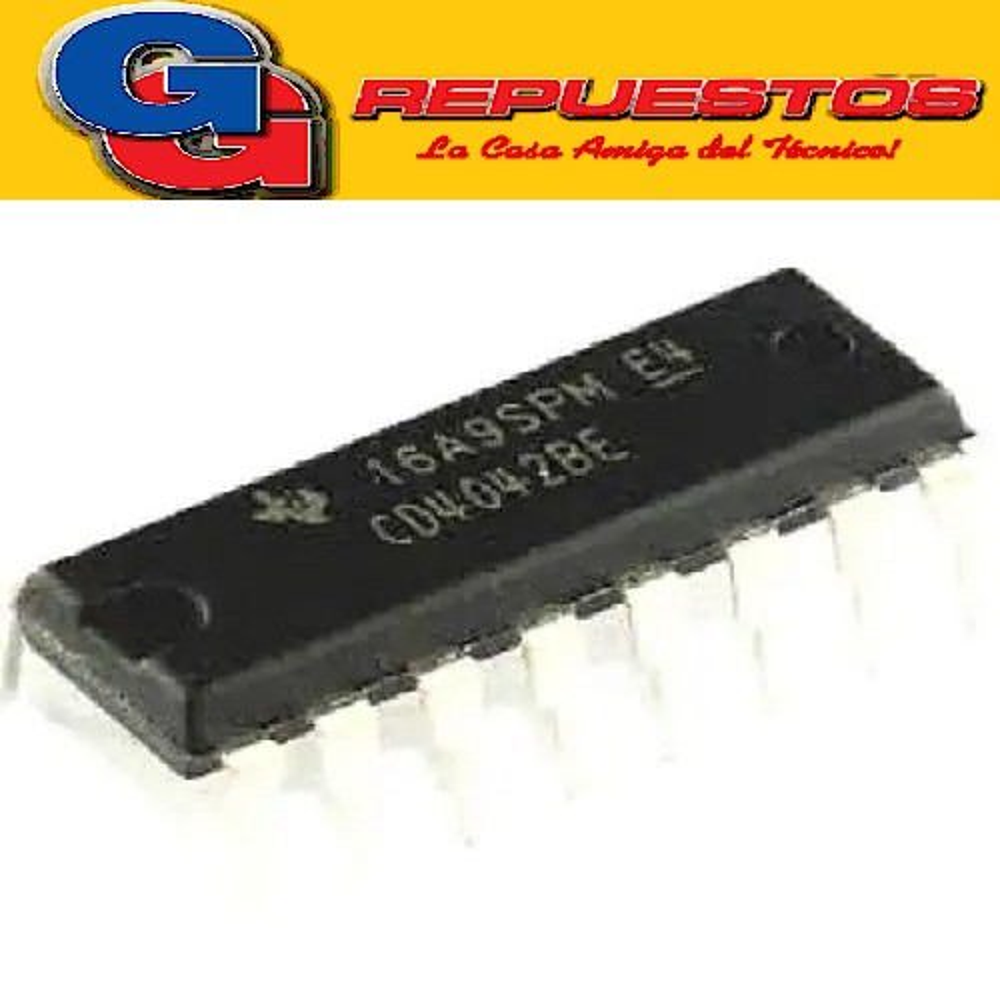 CD4042/HCF4042 CIRCUITO INTEGRADO -DIP16- (15V/100NA/500MW)